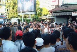 ヤンゴン市内の様子